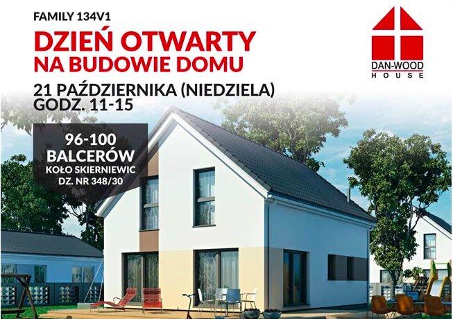 Wizualizacja domu Family 134V1