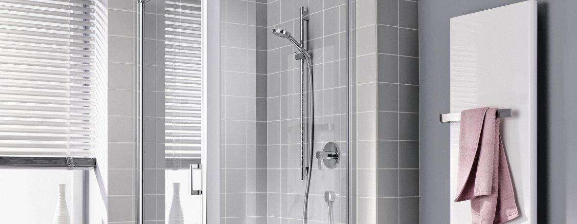 Wyjątkowa kabina prysznicowa z eleganckim odpływem liniowym...